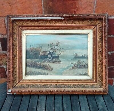 Antique Oil Painting. 1830's. Signed. English School. Turner. Constable Era