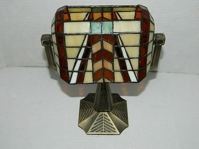Partylite Artisan Double Tealight Bankers Lamp Retired