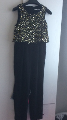 Girls Jumpsuit, Sequin, Party, Marks abd Spencers, Age 8-9 years
