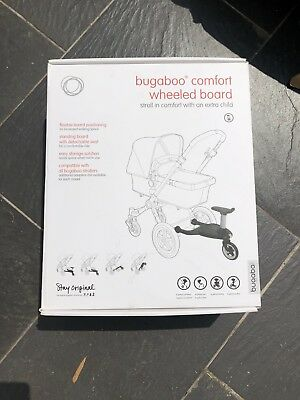 Bugaboo Comfort Wheeled Buggy Board with seat