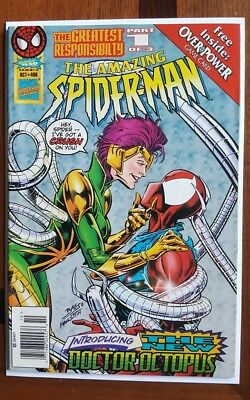 Amazing Spider-man 406 1995 ~VF first appearance female doctor octopus newsstand