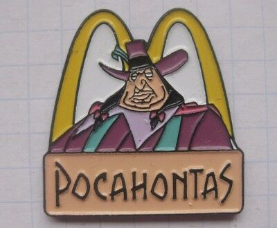 M /  POCAHONTAS / DISNEY .............Comic Mc DONALD`s -Pin (157h)
