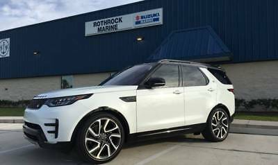 2017 Land Rover Discovery HSE Luxury AWD 4dr SUV 2017 Land Rover Discovery HSE Luxury