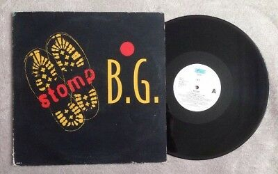 "B.G. ""STOMP"" House / Dance 12"" Single x4 Mixes JAM Recordings / DANCE POOL"