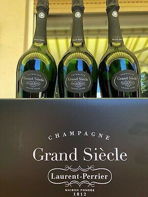 6. Flaschen Champagner Grand Siècle Laurent Perrier