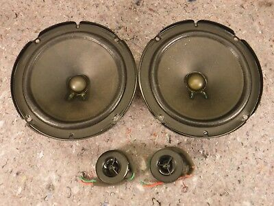 1 Pair Bose 6 5 2 Way Oem Component Car Speakers 2 Ohm 25w Mercedes