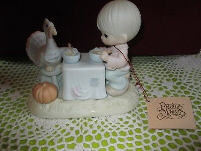 Precious Moments Figurine -  #522031 Thank You Lord For Everything (1989)