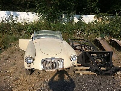Mga 1500 1956 For Restoration Complete Car With Excellent Spare Chassis