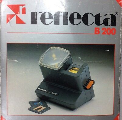 New Condition REFLECTA B200 Slide Viewer w/2.5 Magnification