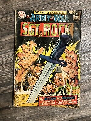 Our Army At War 189 Feb 1969 DC Comics
