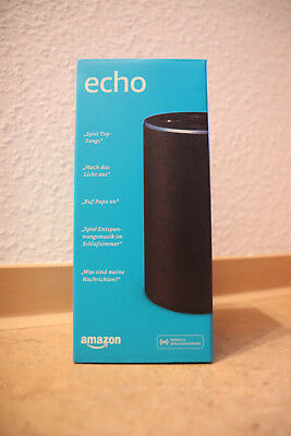 Amazon Echo (2. Generation) Sprachgesteuerter Smart Assistant - (NEU und OVP)