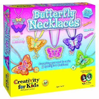 - Kit Butterfly Necklaces 1198000 Cfk1198 By Creativity For Kids