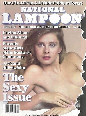 NATIONAL LAMPOON MAGAZINE 96 ISSUES in PDF format on DVD 1980-1989