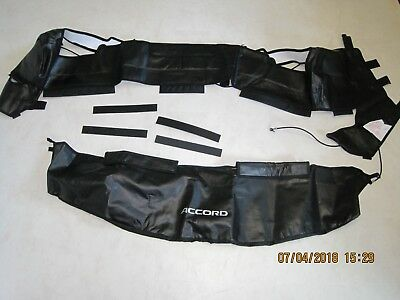 90-91 OEM HONDA ACCORD Full Nose Mask Bra DISCONTINUED HTF #08P35-SM4-100B