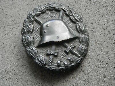WW1 Germany, Original Wound Badge in Black, nonmagnetic type