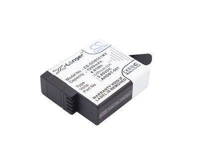 3.85V Battery for GoPro AABAT-001 Premium Cell 1250mAh Li-ion New UK