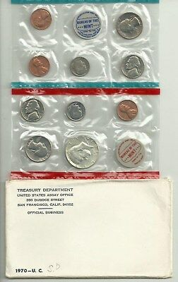 1970 Mint Set (Small Date) Nice Looking Set!!!