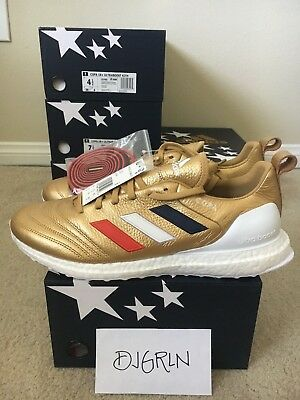 3b4aff8ecab2a Adidas Copa Mundial 18 Ultra Boost Kith Golden Goal US Size 7.5 DS IN HAND