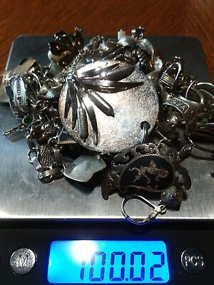 Sterling Silver Scrap Lot 100.02 Grams