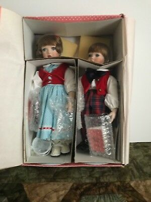 """""""Jack and Jill"""" Paradise Galleries """"Treasury Collection"""" Premiere Edition NIB"""