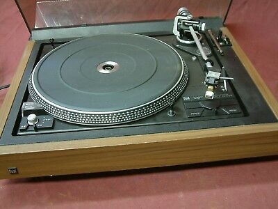 Dual 1257 automatic belt drive turntable.  With ADC XLM i