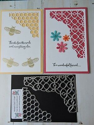 Craft Metal Die compatible with both Cuttlebug or Sizzix -  Fun Cut Outs