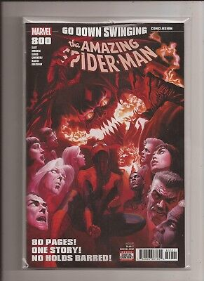 Amazing Spider-Man #800 Alex Ross Cover 1St Print Green Red Goblin Hot Carnage