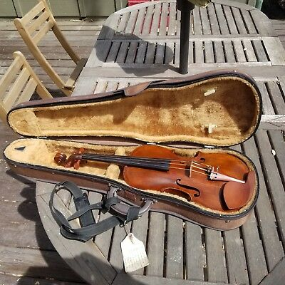 Fine Old Antique 4/4 Violin Handwritten Named Grafted Scroll Seifert
