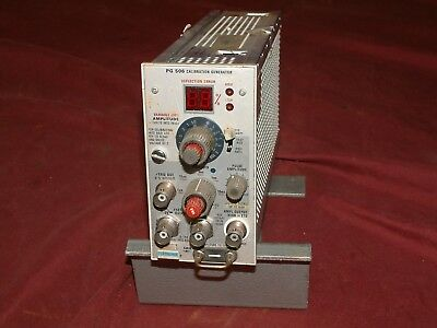 Tektronix PG 506 calibration generator for type TM500 scopes