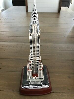 Danbury Mint Chrysler Building - With COA And All Accessories