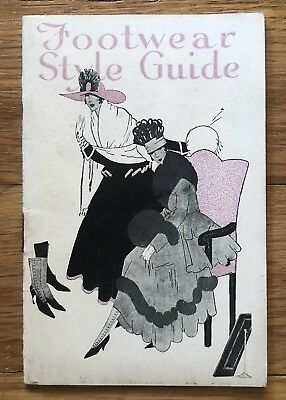 1916-17 Red Cross Shoes Trade Catalog Footwear Style Guide High Button Shoes