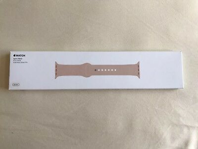 Authentic Apple Sport Band for Apple Watch 38mm Pink Sand. MQ3U2AM/A NEW!!!