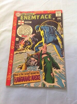 DC Comics Star Spangled War Stories Enemy Ace #140 1968 Comic Book Silver Age