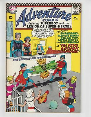 Adventure Comics #356/Silver Age DC Comic Book/Legion of Super-Heroes/FN-