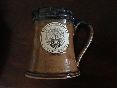 maybe new: Swashbuckler Brewing Company stoneware mug, Made in USA, Sunset Hill