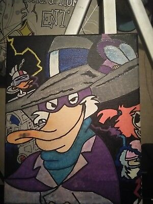 Original Darkwing Duck painting