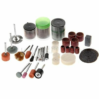 89 Pcs Polishing Rotary Tools Kit Shank Sanding Grinding Cutting Accessories Set
