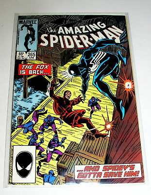AMAZING SPIDER-MAN #265  1st APPEARANCE OF SILVER SABLE & THE 2ND BLACK FOX