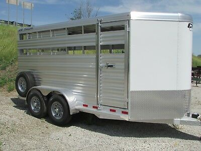 New 16' All Aluminum Stock / Horse Trailer *on Sale Now @ Dr Trailer Sales