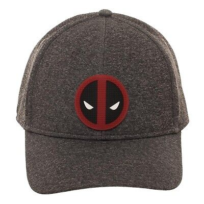 promo code 045f5 dad7b Marvel Comics Deadpool Rubber Weld Cationic Flex Cap Snapback Cap Hat
