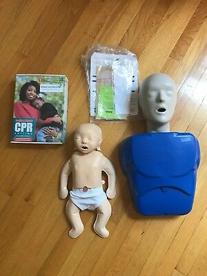 CPR Prompt Training Manikin Adult Nasco with Friends and Family Kit Included