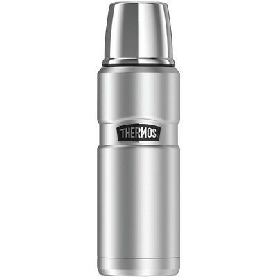 Thermos SK2000STTRI4 Stainless King Vacuum-Insulated Beverage Bottle, 16 oz, Sil