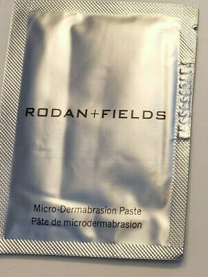 NEW Rodan + and Fields Enhancements MicroDermabrasion Paste 10 Packets NO BOX
