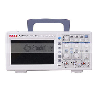 UNI-T UTD2102CEX Digital Storage Oscilloscopes 100MHz Bandwidth 2CH