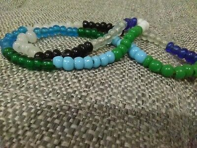 Native American Indian Trade Bead Necklace