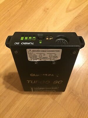Quantum Turbo Battery SC With Charger Working in Good Condition - NO RESERVE!
