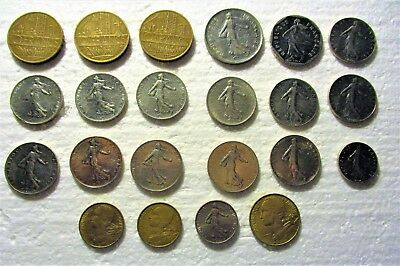 Small Cache Of French Coins