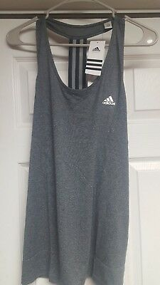 Womens Adidas Climalite Derby Tank Top  Xlarge