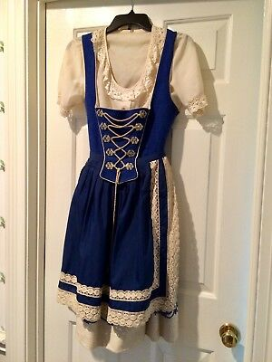 Authentic Austrian/Bavarian Dirndl with Apron