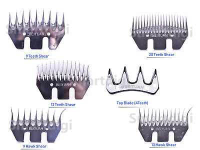 Cheap Price 4#9#13#20#teeth Shear Blade Replacement For 500w Clipper Sheep Alpaca Farm Tool Shearing Livestock Supplies, Equipment
